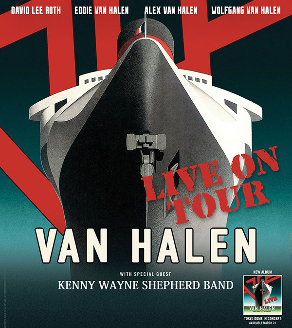Van Halen 2015 North American Tour